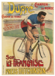 Dupre World Champion Cycling Poster